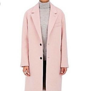 Andersson Bell Pink Unisex Wool Coat Parka Sz S-M